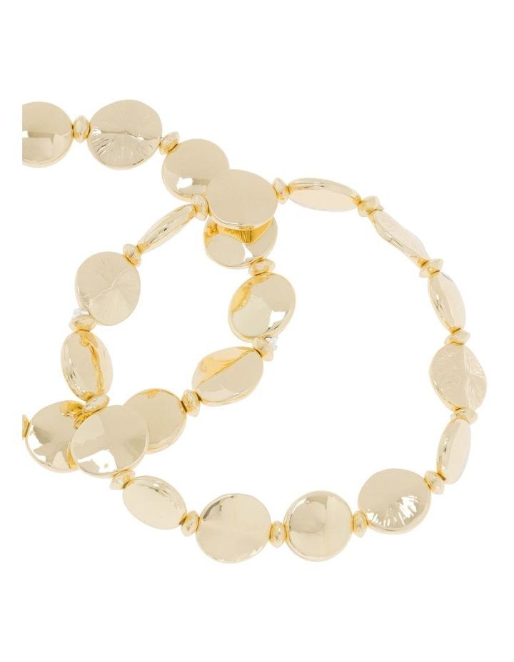 2 Pack Gold Stretch Bracelet image 2