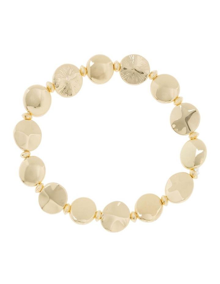 2 Pack Gold Stretch Bracelet image 3