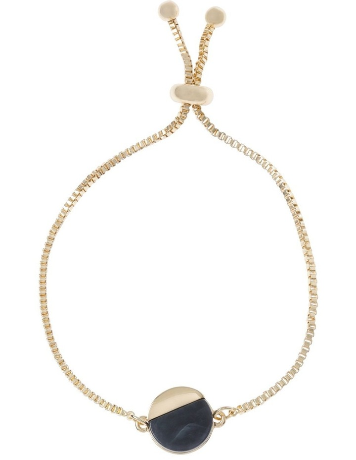 Adjustable Disc Pendant Bracelet image 1
