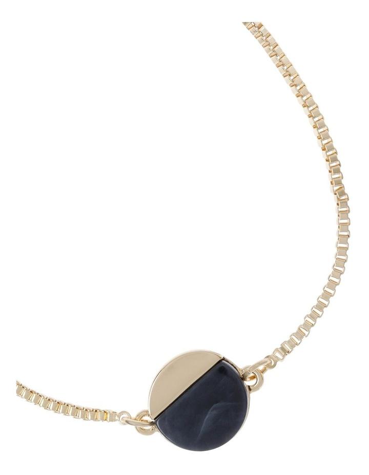 Adjustable Disc Pendant Bracelet image 2