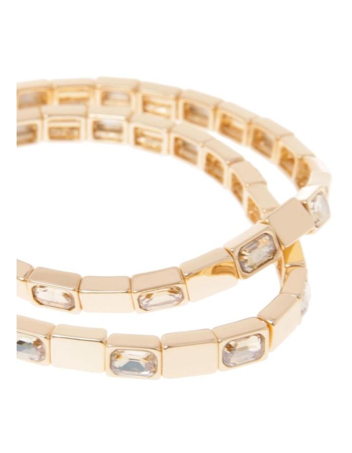 Stretch Crystal 2 Pack Bracelet image 2
