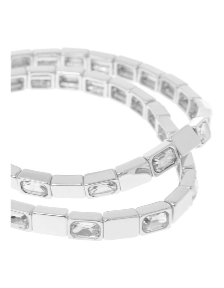Stretch Crystal 2 Pack Bracelet image 2