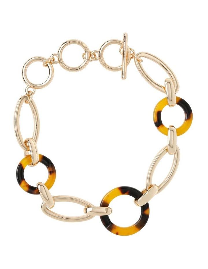 Tortoiseshell Linked Chain Bracelet image 1
