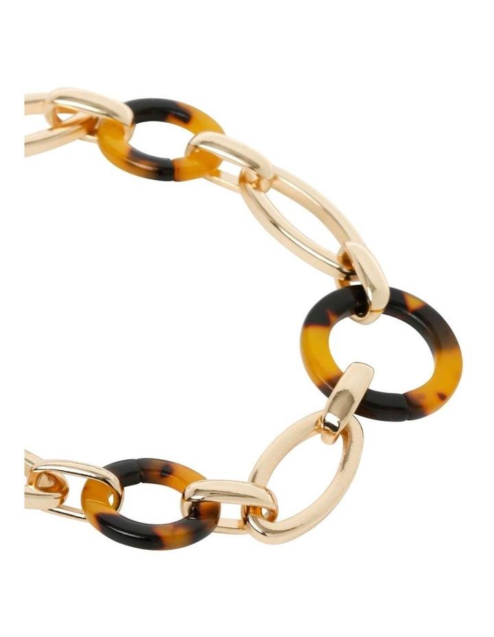 Tortoiseshell Linked Chain Bracelet image 2