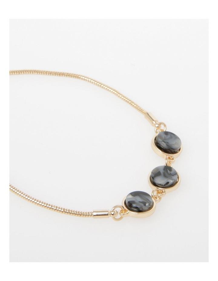 3 Gem Slider Bracelet image 2