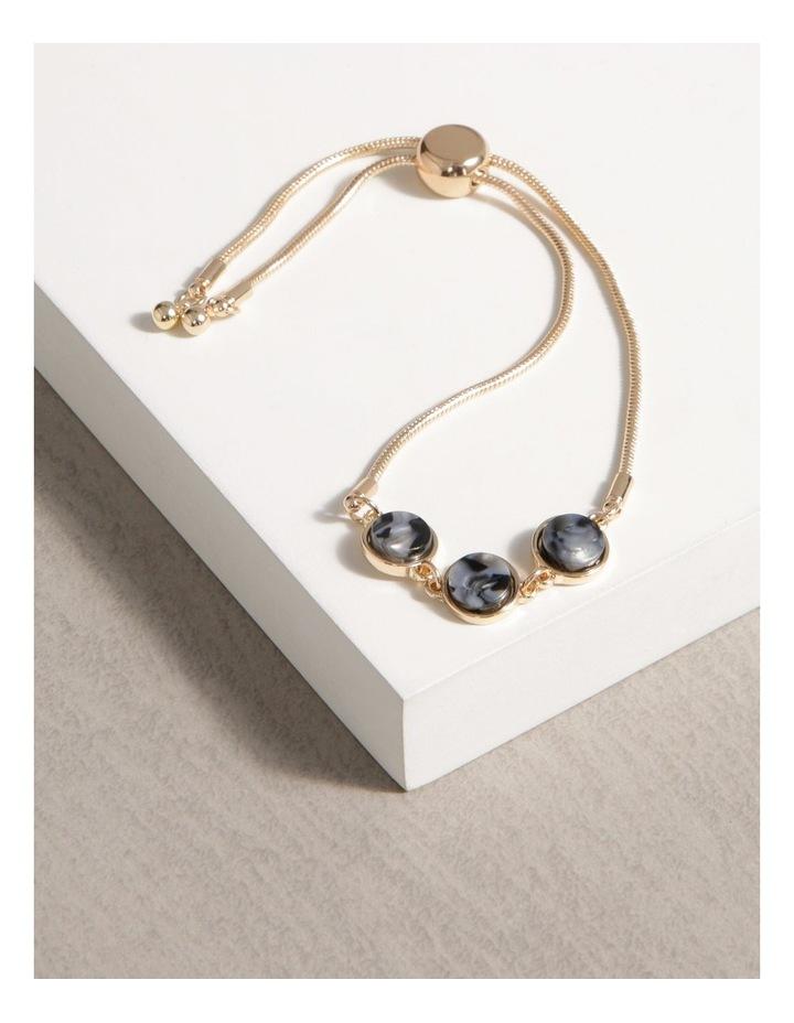 3 Gem Slider Bracelet image 3