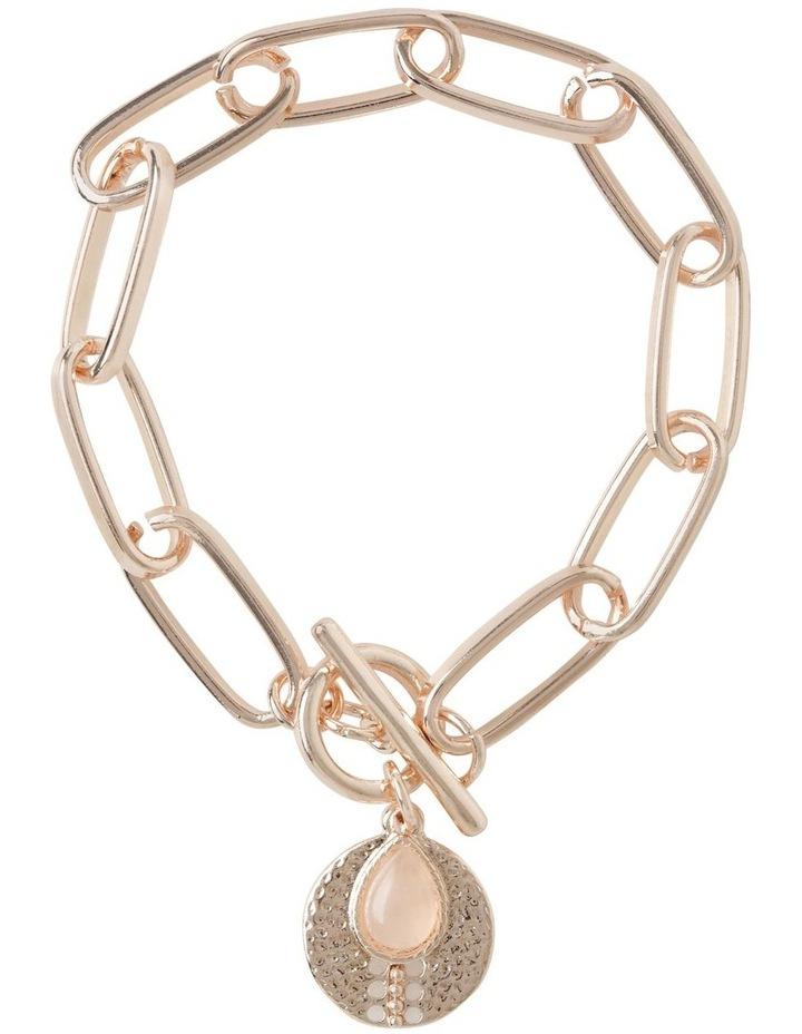 Stone Charm Fob Bracelet image 1