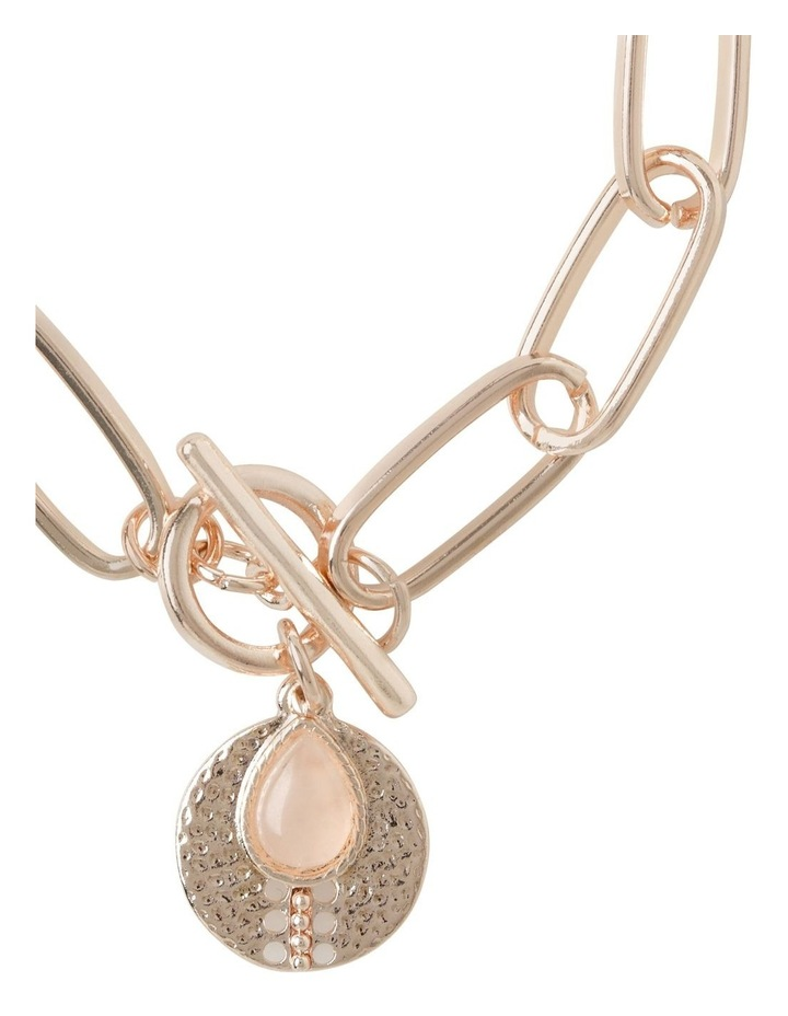 Stone Charm Fob Bracelet image 2