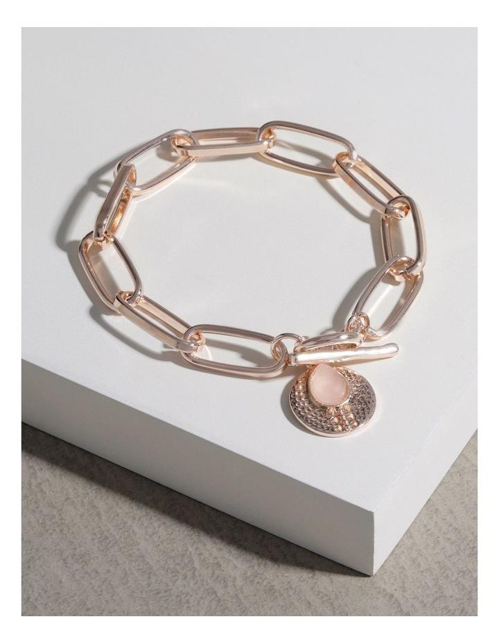 Stone Charm Fob Bracelet image 3
