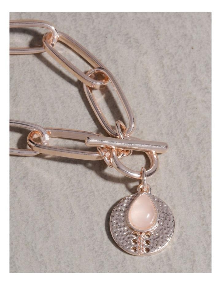 Stone Charm Fob Bracelet image 4