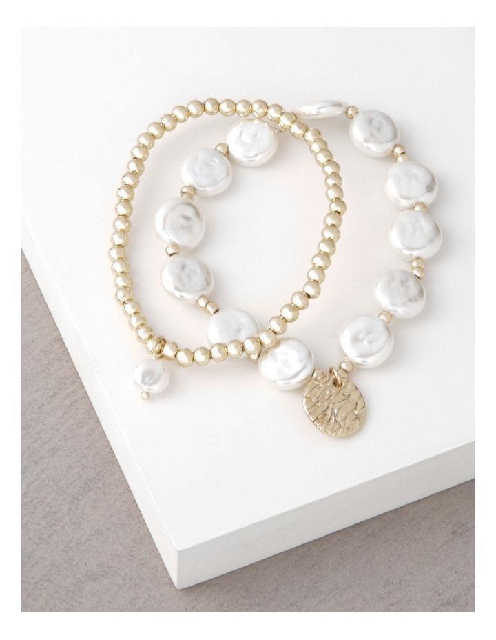 Organic Pearl Bracelet Set image 3