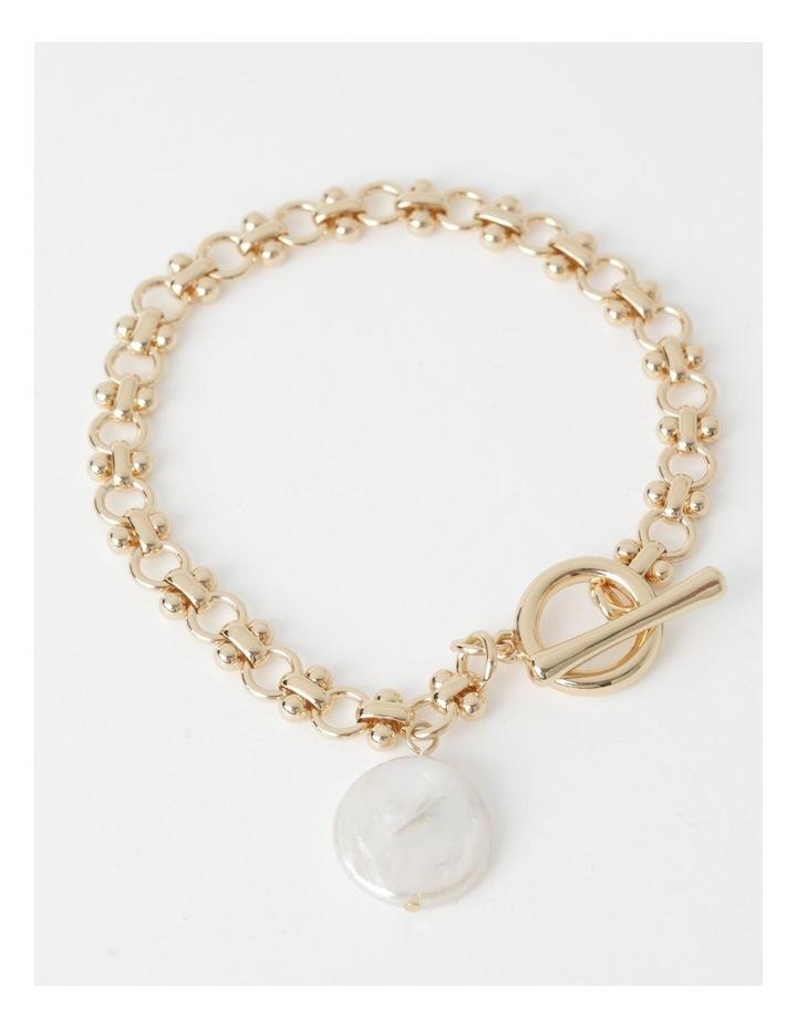 Freshwater Pearl Fob Bracelet image 1