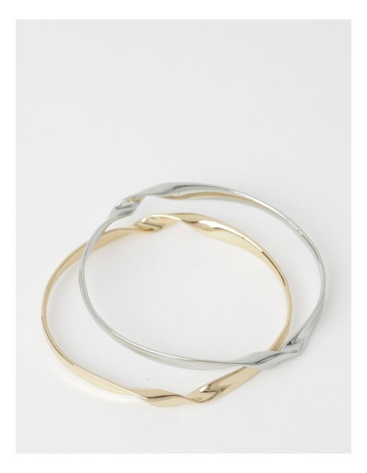 Sculptural Bracelet Set image 2