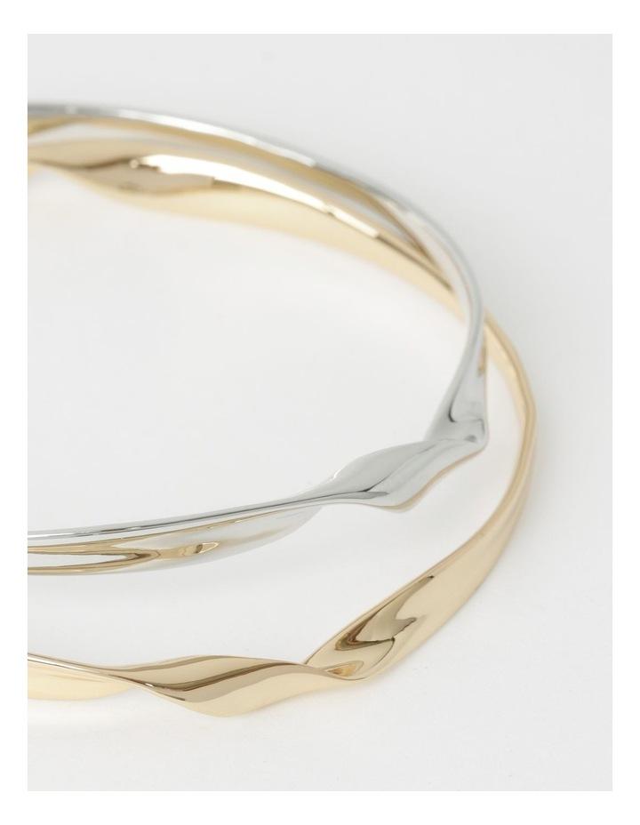 Sculptural Bracelet Set image 3