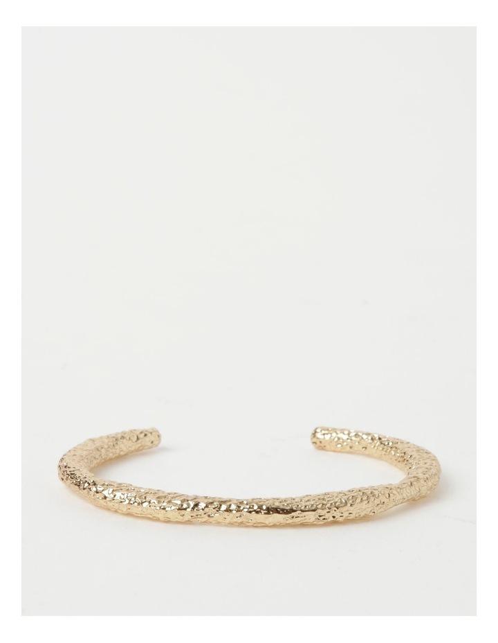Molten Cuff Gold Bracelet image 1
