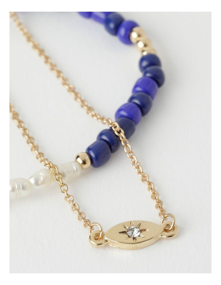 Spliced Pearl Bracelet Set image 2