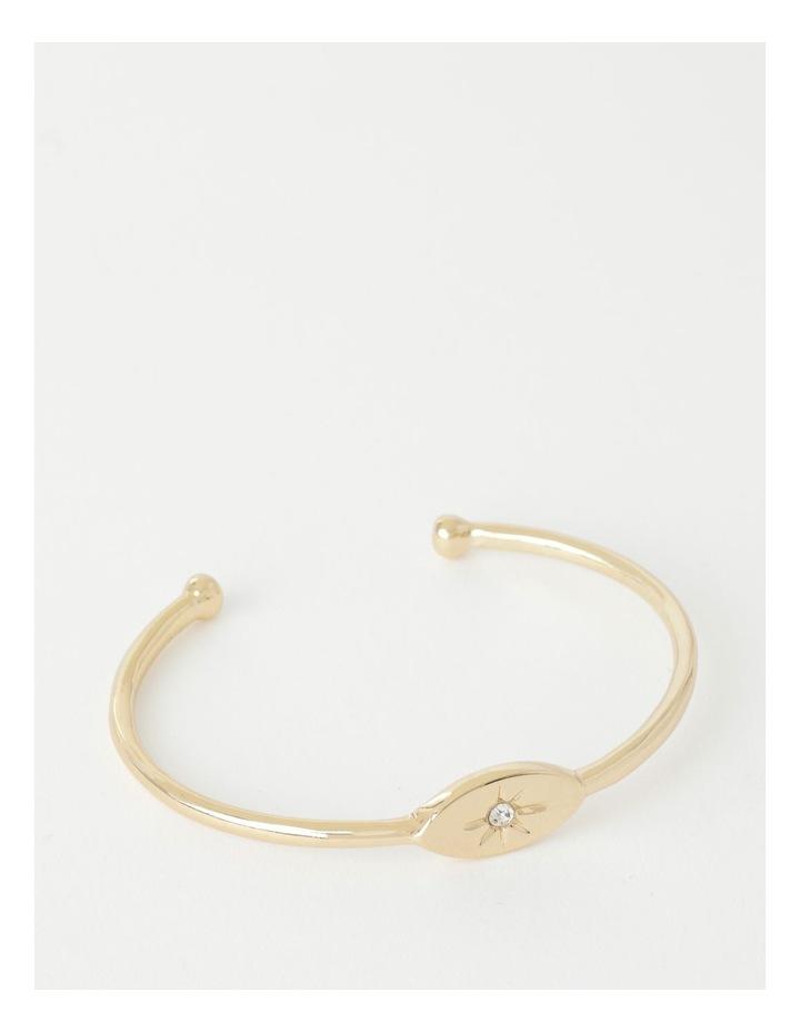 Eye Charm Cuff Bracelet image 1