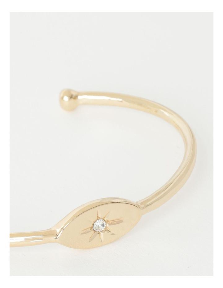 Eye Charm Cuff Bracelet image 2