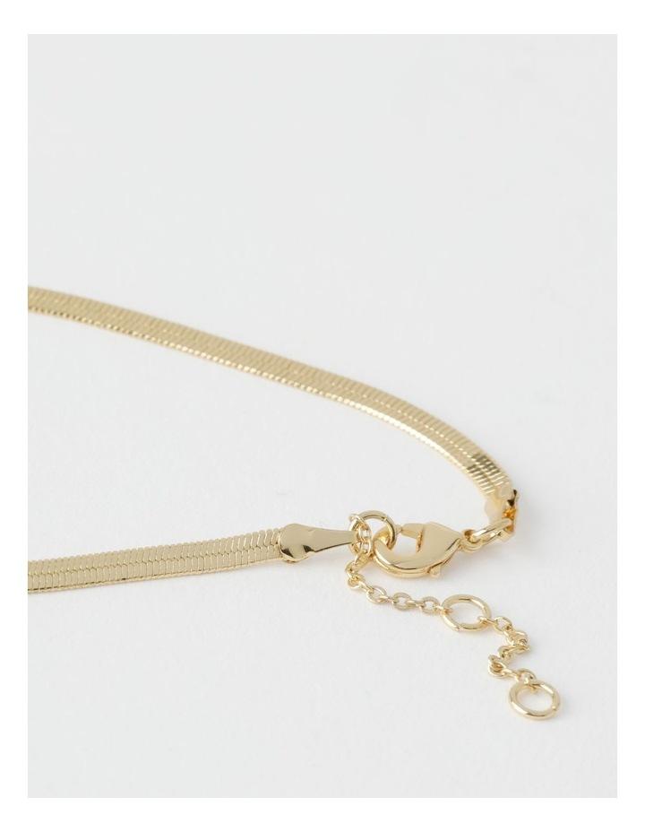 Fine Snake Chain Gold Bracelet image 2