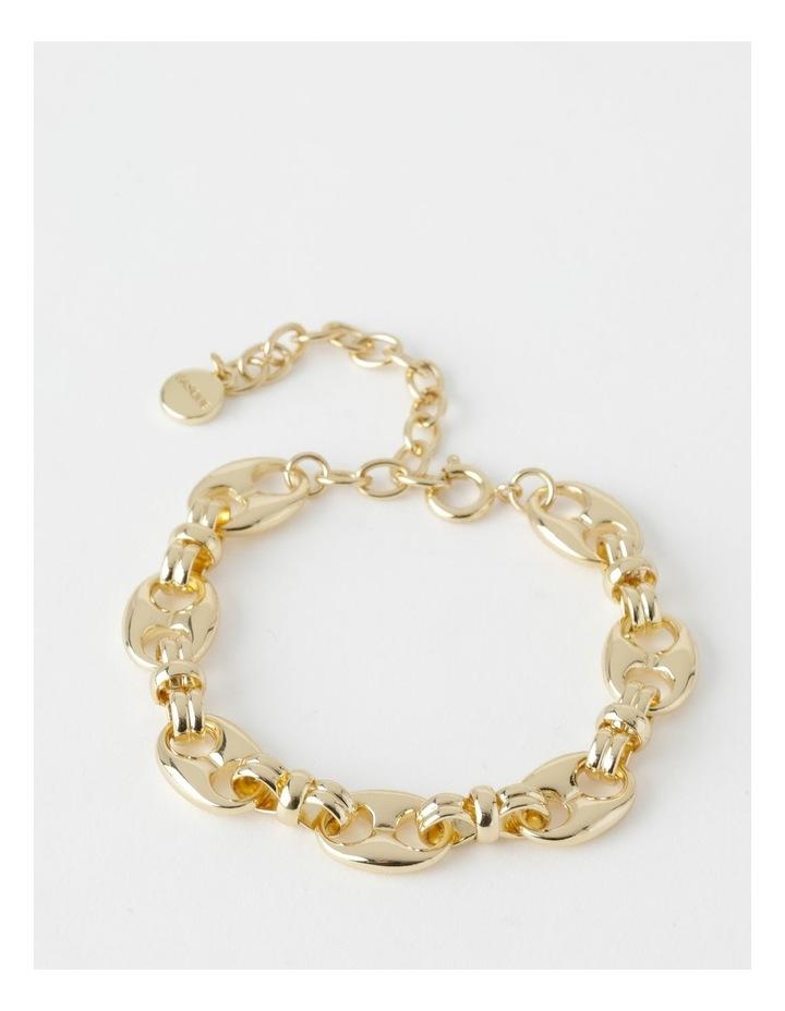 Vintage Gold Chain Bracelet image 1