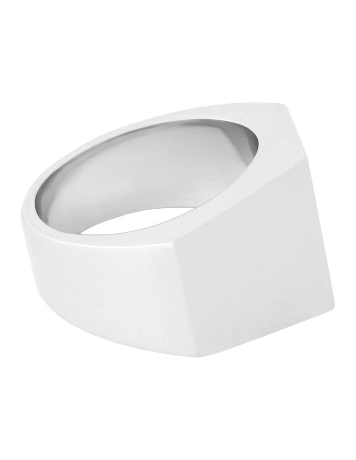 WCHSS17RG80 Sharp Bridge Ring in Silver image 2
