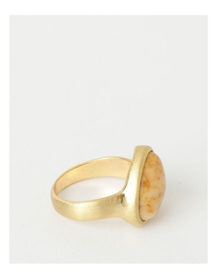 Stone Statement Camel Ring image 2