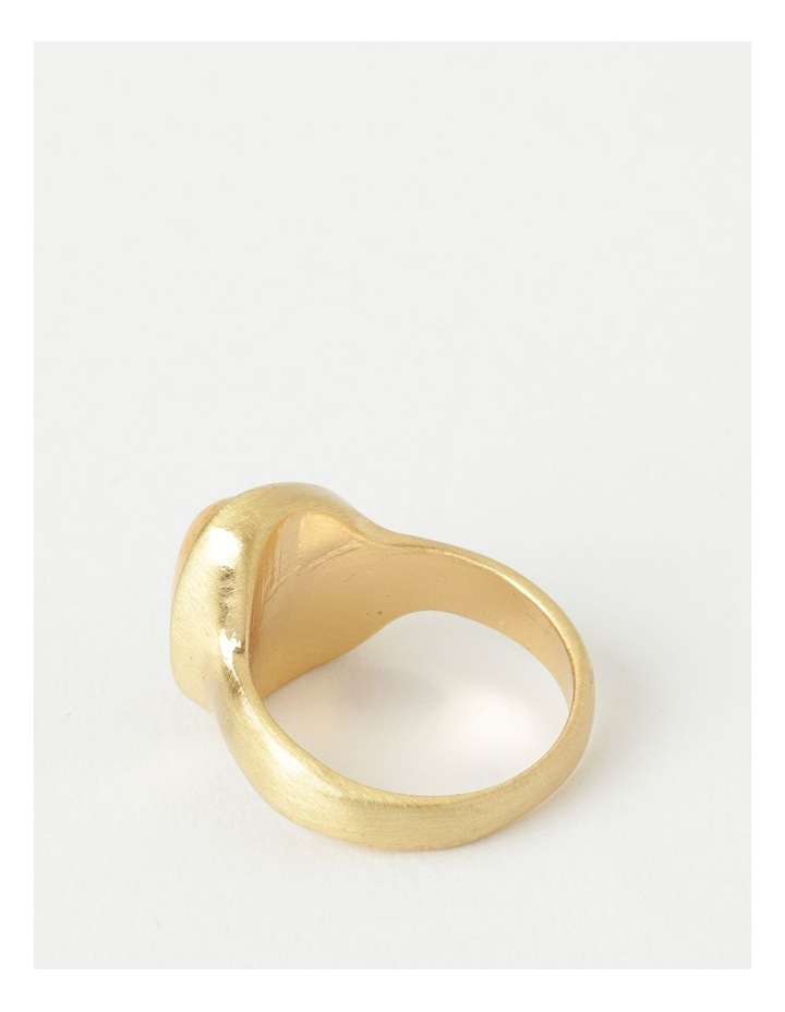 Stone Statement Camel Ring image 3