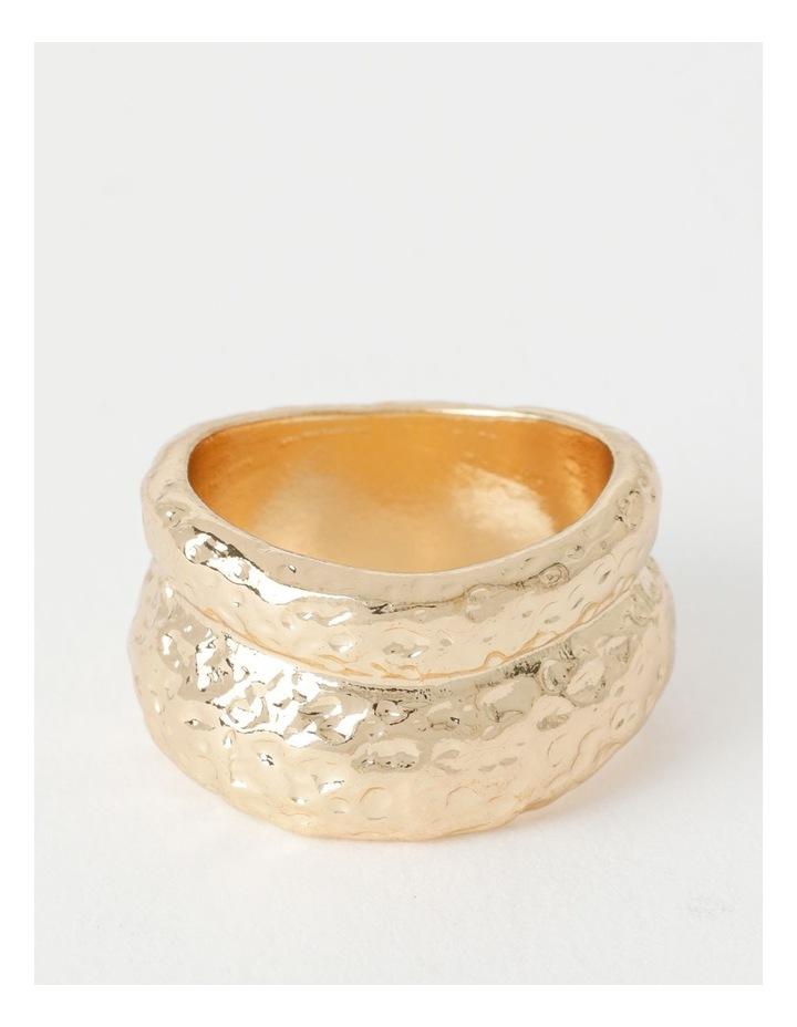 Organic Shaped Gold Ring image 2
