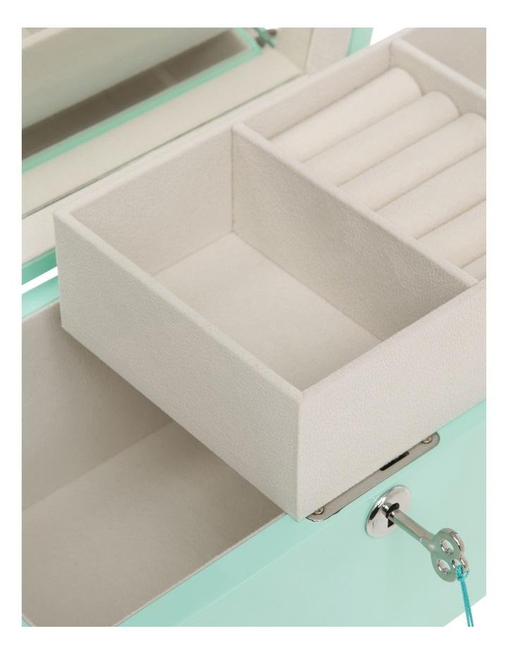 FB207013-031 High Gloss Tassel Key Jewellery Box image 3
