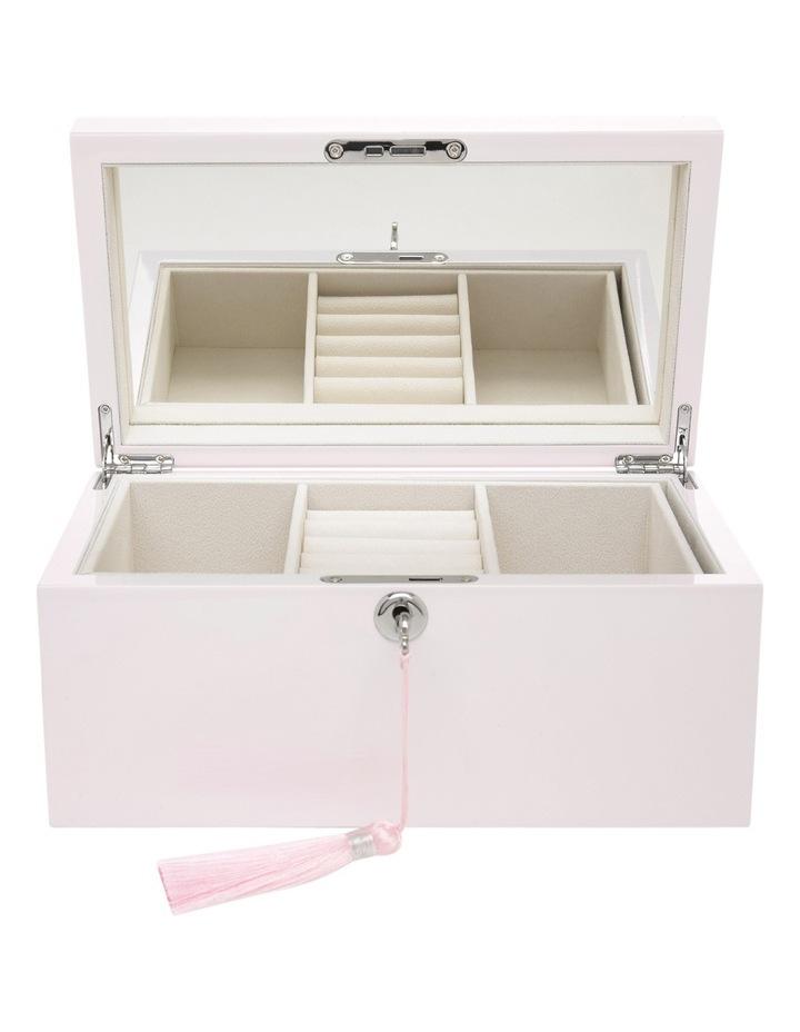 FB207013-031 High Gloss Tassel Key Jewellery Box image 1