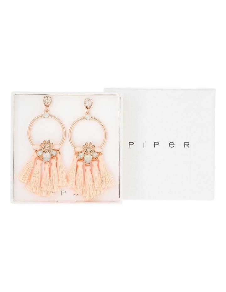 Rhapsody Tassel Fan Earring Giftbox image 1