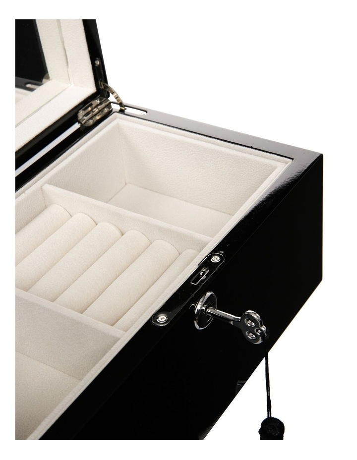 High Gloss Tassel Key Jewellery Box image 3