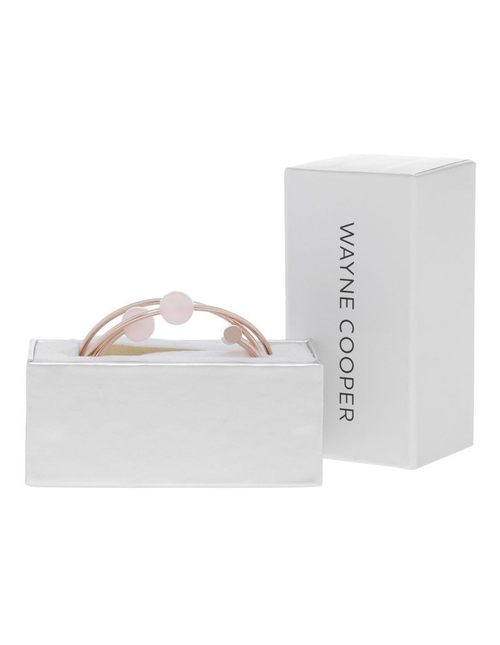Bangle Set with Faux Pearl image 3
