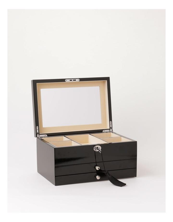 Multi Drawer High Gloss Black Jewellery Box image 3