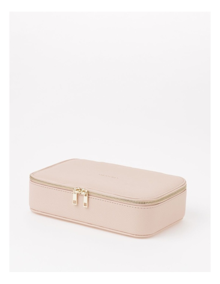 Large Zip Around Travel Blush Jewellery Box image 1