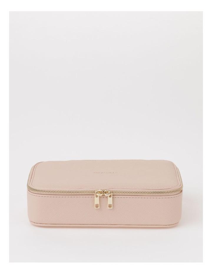 Large Zip Around Travel Blush Jewellery Box image 3