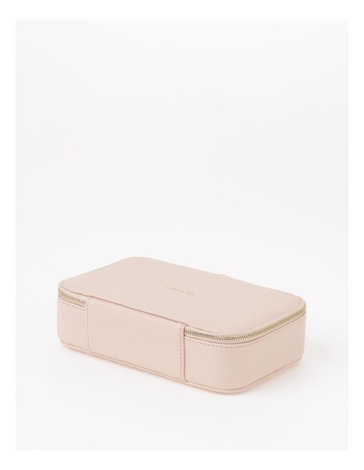 Large Zip Around Travel Blush Jewellery Box image 5