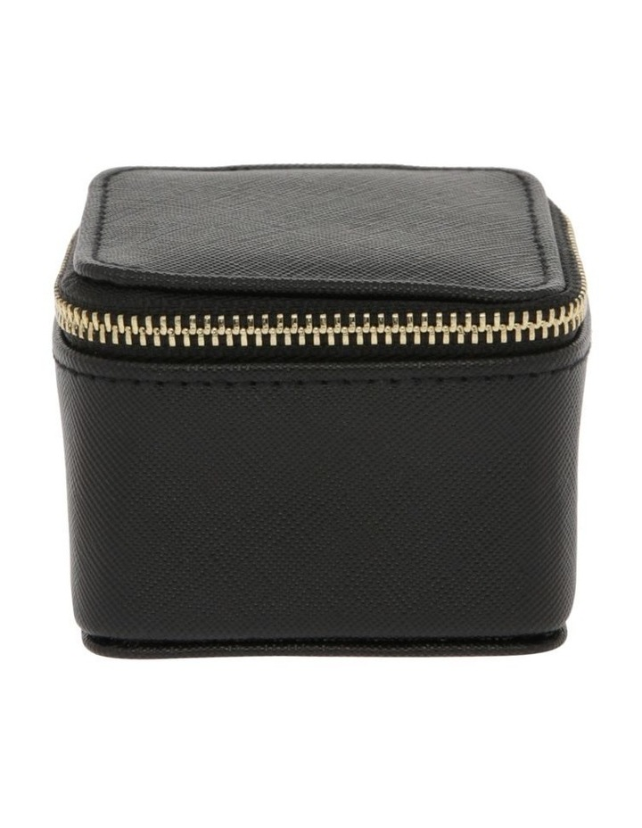 Small Square Jewellery Box in Black image 1