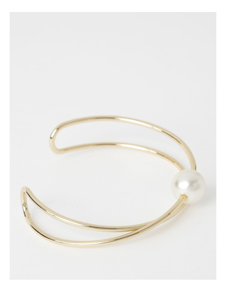 Bangle Set With Faux Pearl image 2
