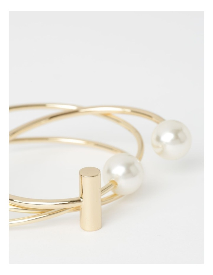 Bangle Set With Faux Pearl image 4