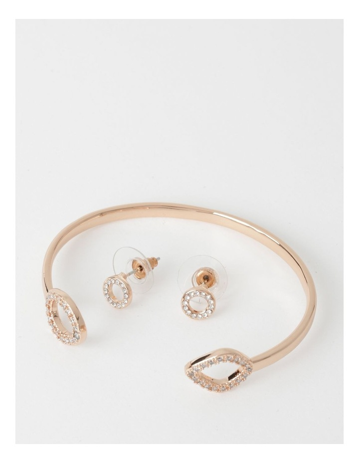 Diamant Bangle & Earring Set image 1