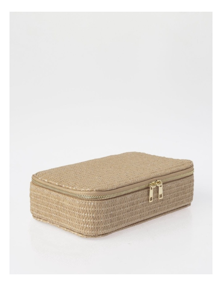 Large Rattan Jewellery Box image 2