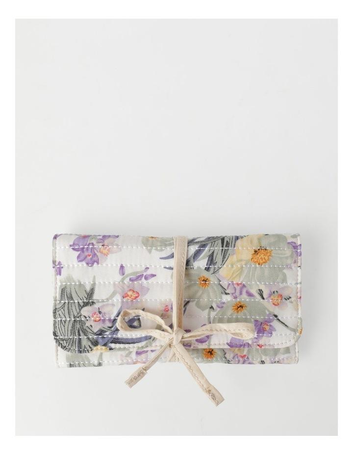 Pastel Floral Jewellery Wrap image 1