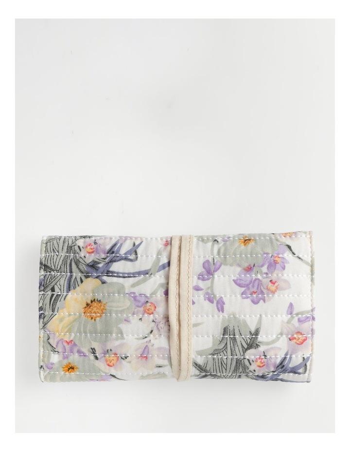 Pastel Floral Jewellery Wrap image 2