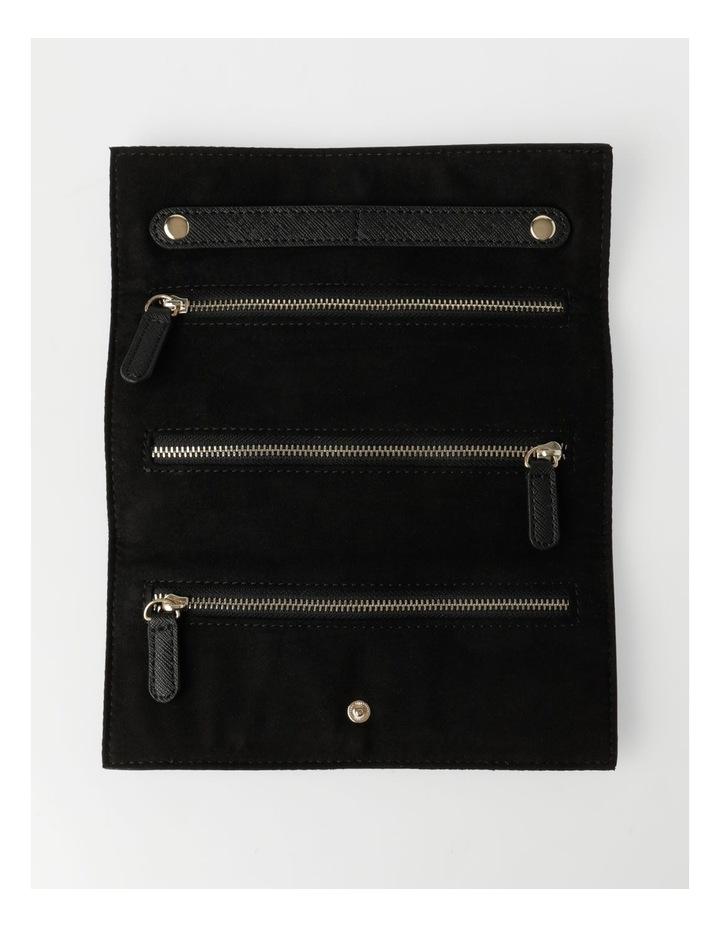 Black Saffiano Jewellery Wallet image 3