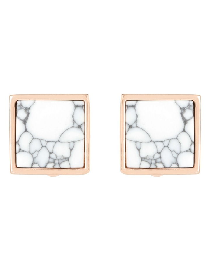 Peter Lang EA6609 Marble Skies Chalk Clip On Earrings