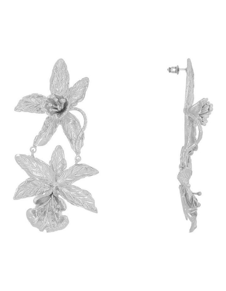 Abella Earrings Silver image 2