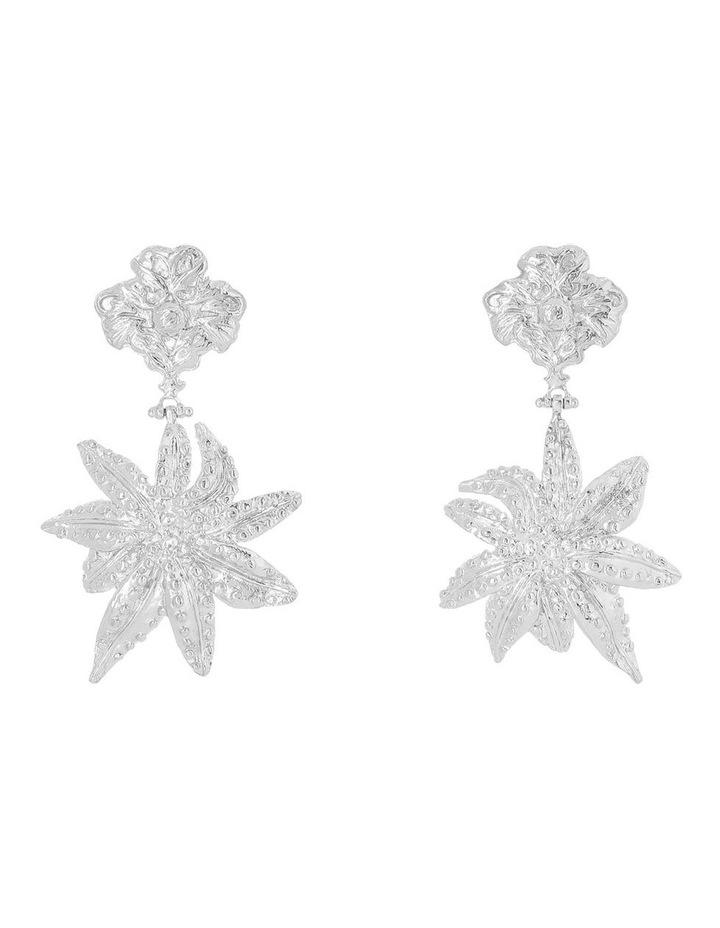 Oasis Earrings Silver image 1