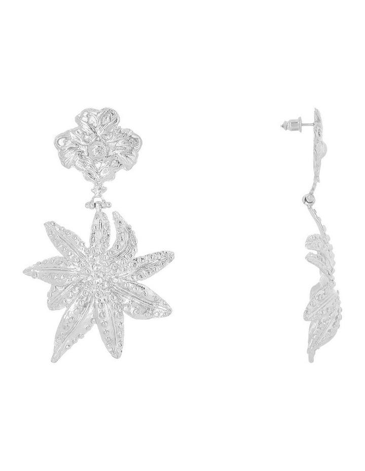 Oasis Earrings Silver image 2