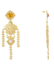 Christie Nicolaides - Angelique Amber Earrings